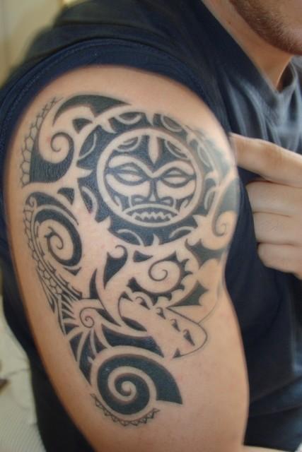 Maori Tiki. Part 2/ Trizep wurde gefüllt, nächster Termin Ende September!