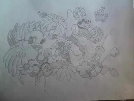 Zeichnung entlich fertig