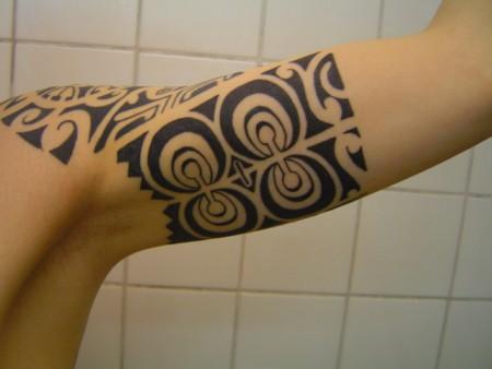 Polynesischer Arm innen