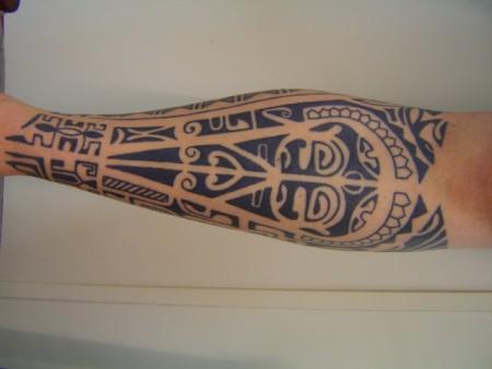 Polynesisches Bein
