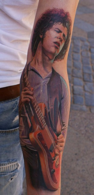 mario hartmann...sleeve in progress..omar rodriguez