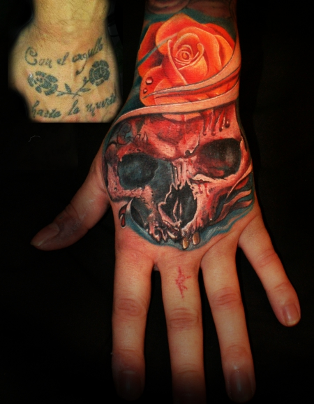 cover-Tattoo: mario hartmann..hand,cover up