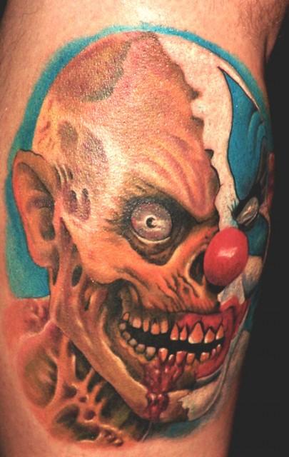 robby welke:clown