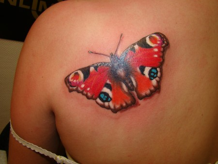 Schmetterling-Tattoo: Schmeterling