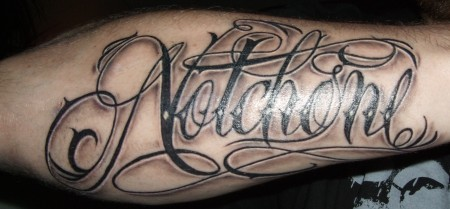 carpe diem-Tattoo: Notchone