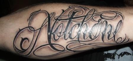 carpe diem-Tattoo: Notchone