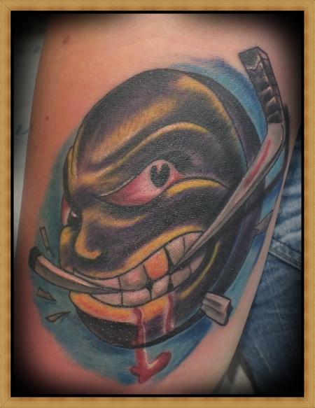 boris-checker: hooligan puck   Tattoos von Tattoo-Bewertung.de