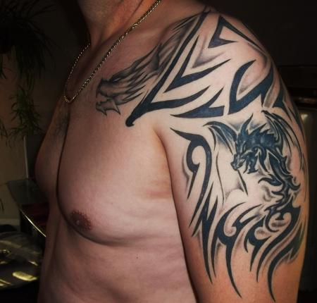 Nematz Tribal Etwas Anders Tattoos Von Tattoo Bewertungde