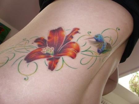 blume-Tattoo: ...