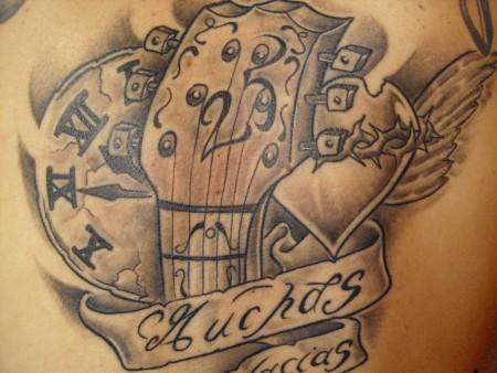 onkelz-Tattoo: Böhse Onkelz - Danke für 25 Jahre
