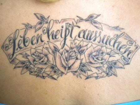 Frommerwunsch Leben Heißt Aussuchen Tattoos Von Tattoo