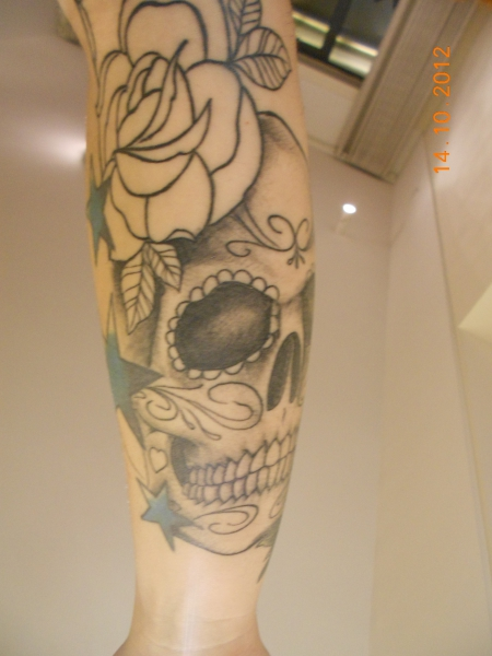 bakaja mexiko kopf tattoos von tattoo. Black Bedroom Furniture Sets. Home Design Ideas