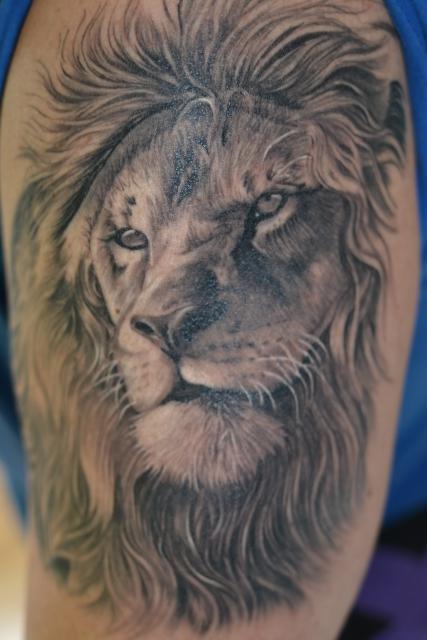 löwe-Tattoo: Löwe by Mario Hartmann