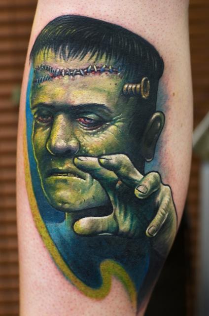 Herman Munster Frankensteins Monster