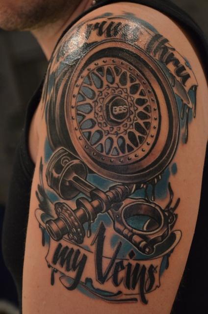 frankster mein neues aufm oberarm tattoos von tattoo. Black Bedroom Furniture Sets. Home Design Ideas