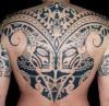 voodoo croo: polynesischer rücken, tahiti tattoo auf Tattoo-Bewertung.de