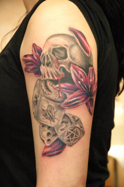 fußball-Tattoo: Hier ein paar Tattoos von meinem Inker .Er kommt nicht dazu sie hochzuladen,deshalb übernehme ich es .