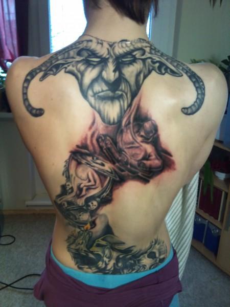Gesamtbild meines Rückens