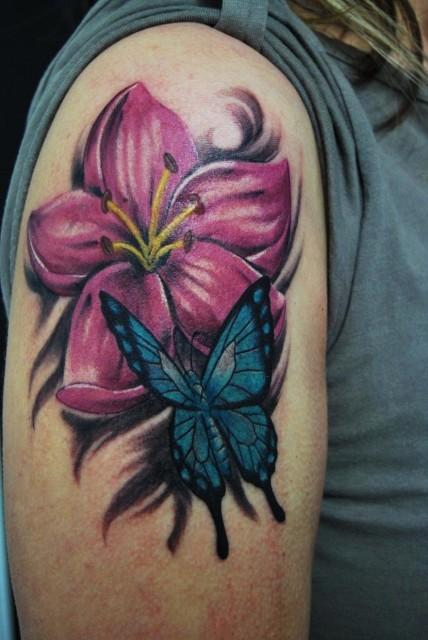 beste blumen tattoos tattoo lass deine tattoos bewerten. Black Bedroom Furniture Sets. Home Design Ideas