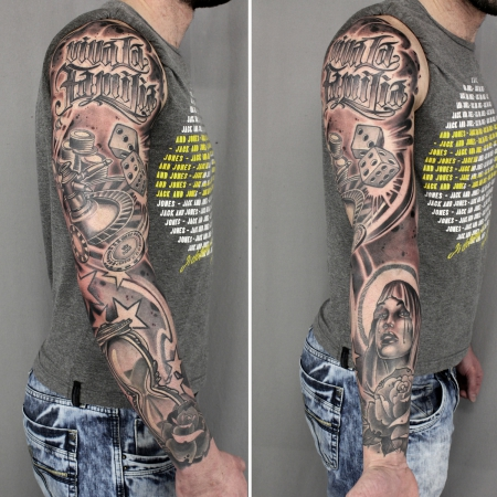 Würfel Tattoos Und Würfelbilder