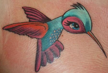 gills bodyart kolibri tattoos von tattoo. Black Bedroom Furniture Sets. Home Design Ideas