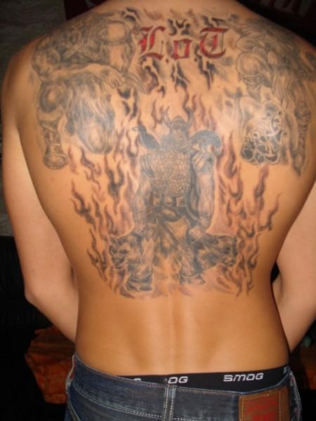thor-Tattoo: legion of thor