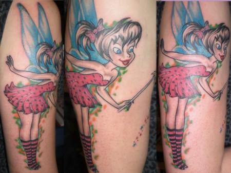 tinkerbell-Tattoo: Tinkerbell