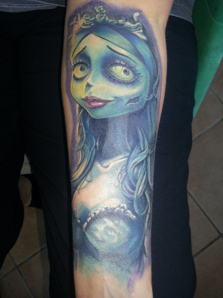 Emily - Corpse Bride - in Progress