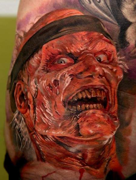 """Dmitriy Samohin; """"Resident Evil Extinction- Bounded Zombie"""""""