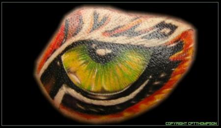 Eye oft the tiger