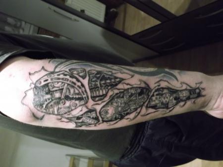 tattooworks einfache mechanik tattoos von tattoo. Black Bedroom Furniture Sets. Home Design Ideas