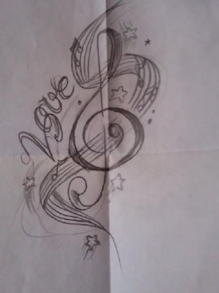 Meine idee zum zweiten Tattoo