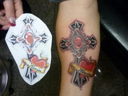 tattoos zum stichwort kreuz tattoo lass deine tattoos bewerten. Black Bedroom Furniture Sets. Home Design Ideas