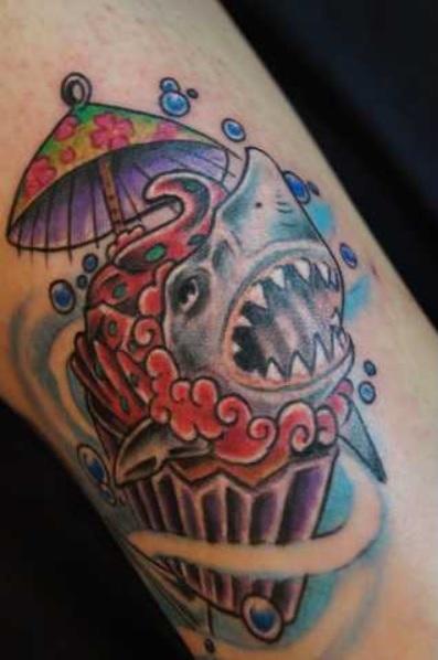 muffin-Tattoo: Ein Muffin mal anders