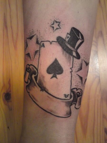 Spielkarte Tattoo