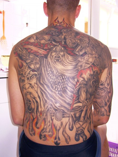 rune-Tattoo: Odins Law von Digger in Halberstadt 2003