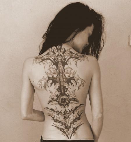 mein Rücken