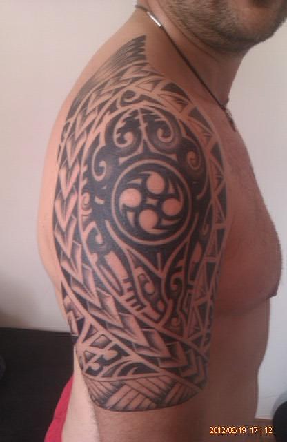binde35 erweiterung meines tribals im polynesisch samoa stil tattoos von tattoo. Black Bedroom Furniture Sets. Home Design Ideas