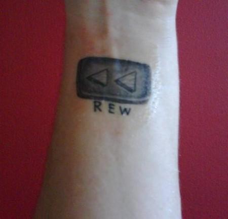 REW-Taste - mein Erstes :)