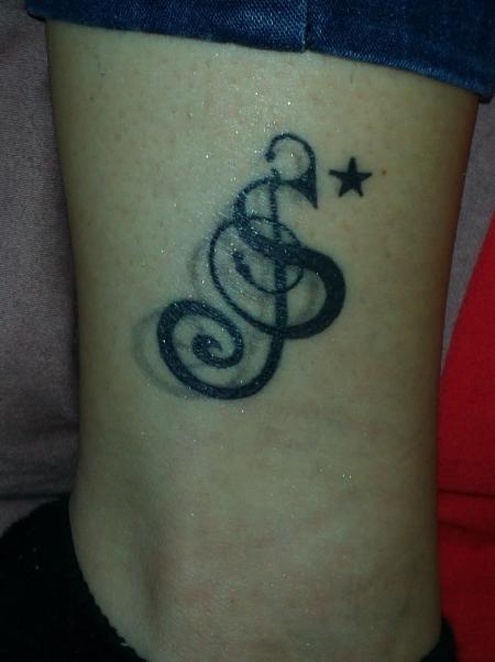 suchergebnisse für 'notenschlüssel'tattoos  tattoo