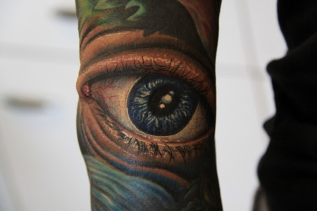 Auge by Herm Tattoo