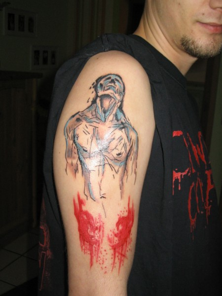 Derek Hess Tattoo