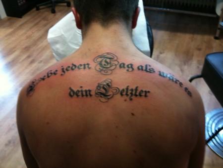 Beste Rücken Tattoos Tattoo Bewertung De Lass Deine Tattoos