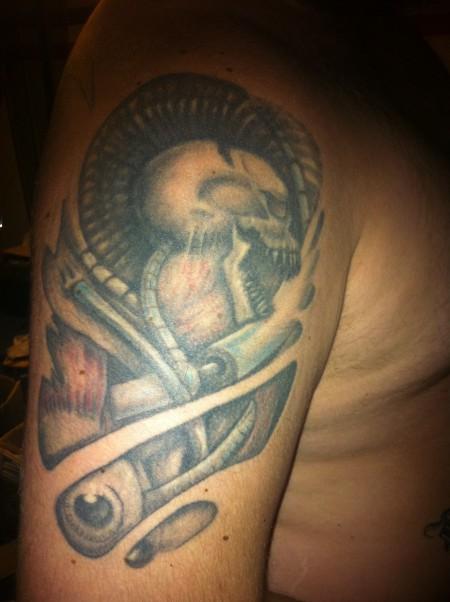 votan biomechanik tattoos von tattoo. Black Bedroom Furniture Sets. Home Design Ideas