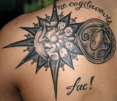 Unendlichkeit-Tattoo: sommersonnenwende