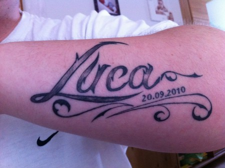 Tattoo Luca