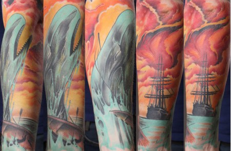 Moby Dick/ Tattoo Gonzo