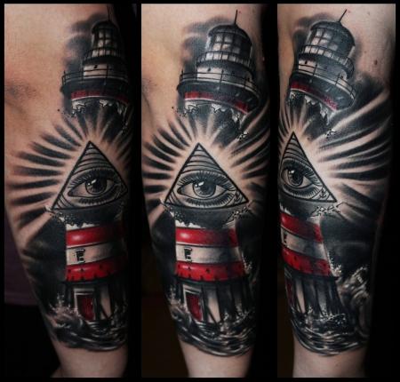 tattoos zum stichwort leuchtturm tattoo lass deine tattoos bewerten. Black Bedroom Furniture Sets. Home Design Ideas