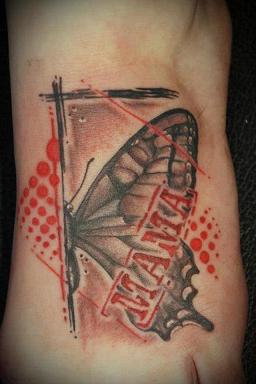 Mal ein etwas andres 'Mama' Tattoo :)