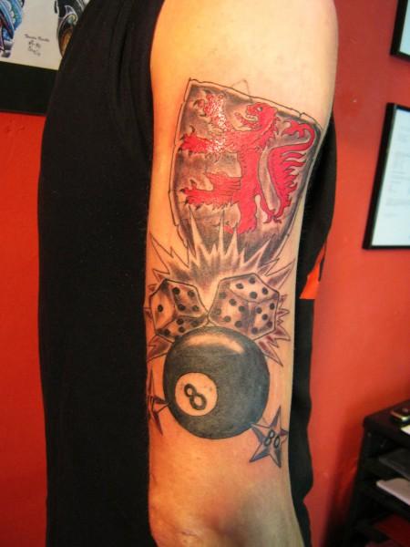 Tattoo Wurfel